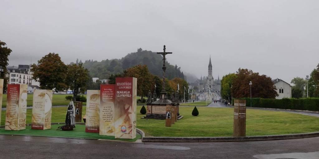 Onderweg Lourdes