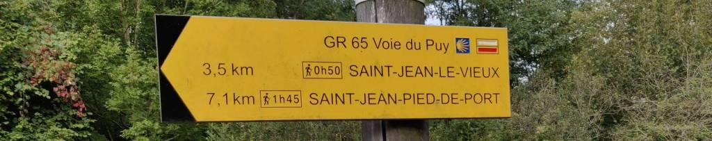 Onderweg, Saint Palias naar Saint jean Pied le Port