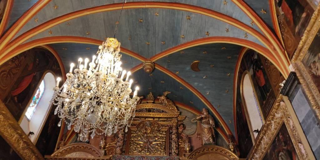 Plafons Chapelle Bétharram
